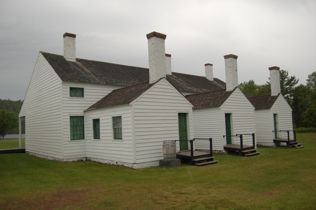 Fort Wilkins Historic State Park Hiking Path