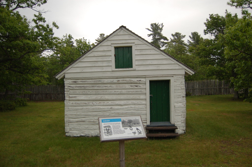 Fort Wilkins Historic State Park Icehouse