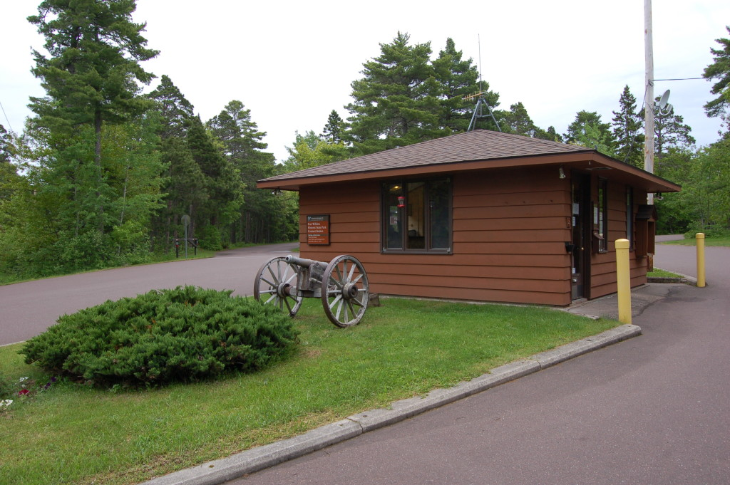 Fort Wilkins Historic State Park Office Building