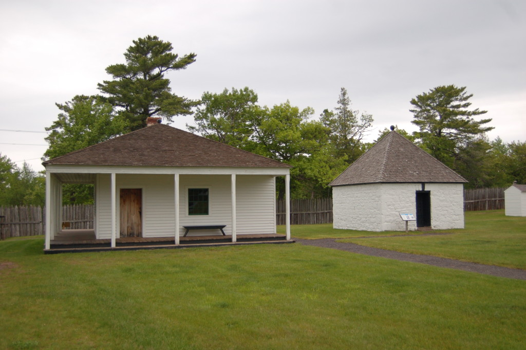 Fort Wilkins Historic State Park Old Buildings