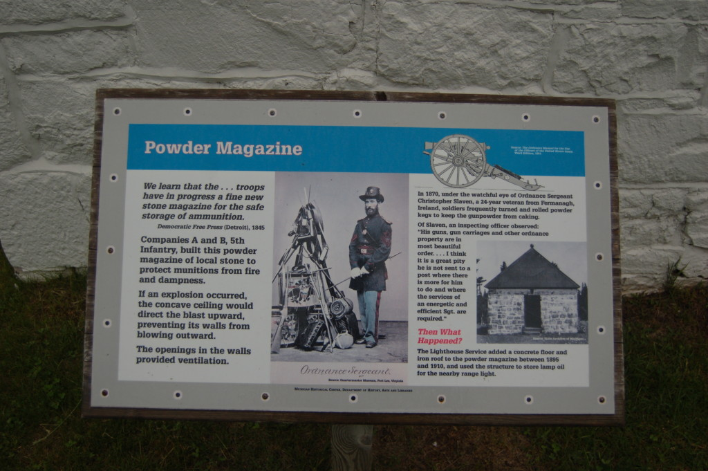 Fort Wilkins Historic State Park Powder magazine