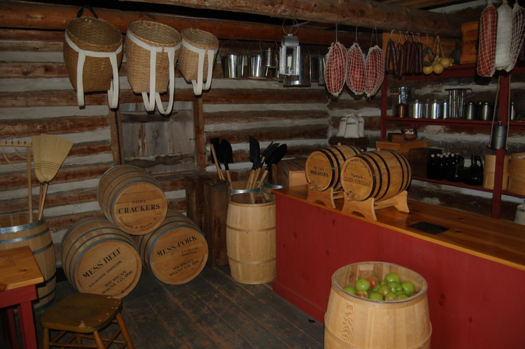 Fort Wilkins Historic State Park Store Interior