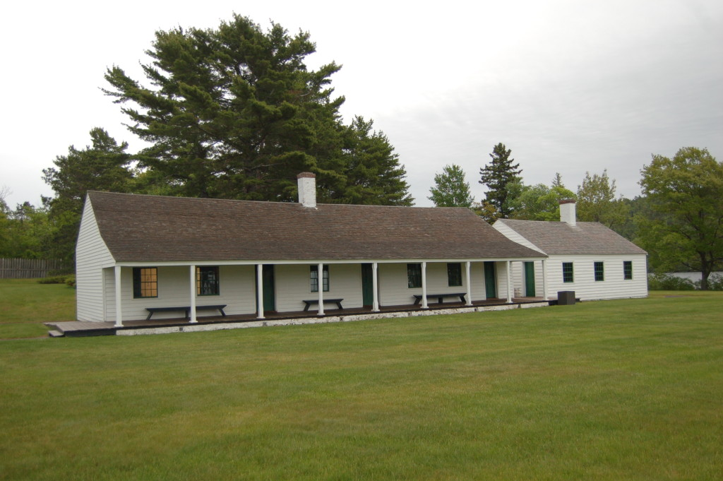 Fort wilkins Historic State Park Barrack Copper Harbor