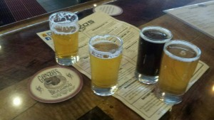 Gonzo's BiggDogg Brewin Kalamazoo Michigan Beer
