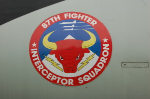KI Sawyer 87th Fighter Interceptor Squadron Insignia