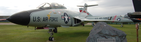 Michigan Roadside Attractions: K.I. Sawyer Air Force Planes