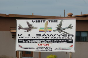 KI Sawyer Michigan Air Museum Sign