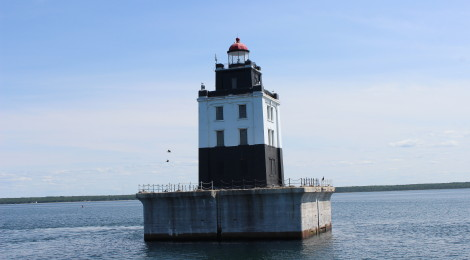 Poe Reef Light, Lake Huron
