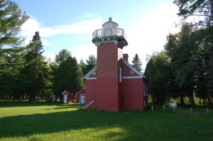 Sand Point Lighthouse 2016 Baraga Michigan