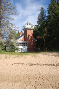 Sand Point Lighthouse Baraga MI 2012