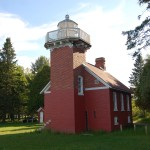 Sand Point Lighthouse (Baraga), Lake Superior