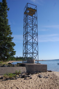 Sand Point Lighthouse Range Light 2012