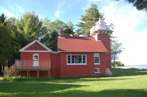 Sand Point Lighthouse Side View Baraga 2016