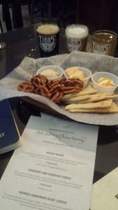 Tibbs Brewing Company Beer Cheese Pairing