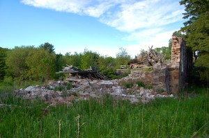 Assinins Orphanage Ruins Baraga Michigan