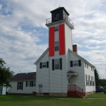 Cheboygan River Range Light, Lake Huron