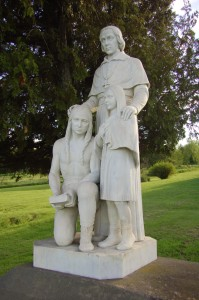 Father Baraga Statue Assinins Michigan
