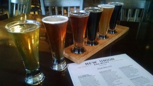 New Union Brewery Flight Lowell Feature Photo