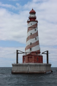 White Shoal Lighthouse Vertical