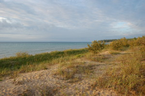 Wilderness State Park Beach Lake Michigan