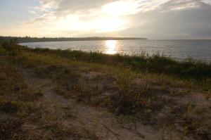 Wilderness State Park Beach Sunset Lake Michigan