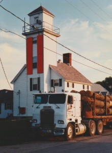 cheboygan river range light 1998
