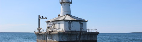 Fourteen Foot Shoal Light, Lake Huron