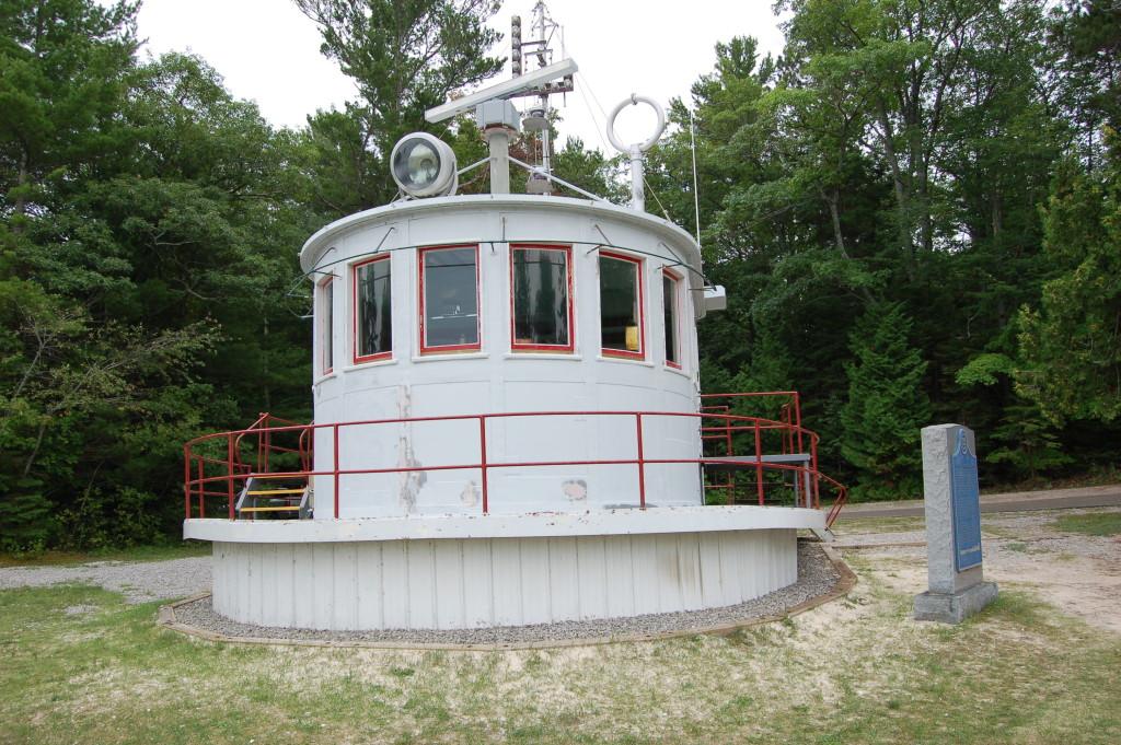 40 Mile Point Lighthouse Calcite Boathouse