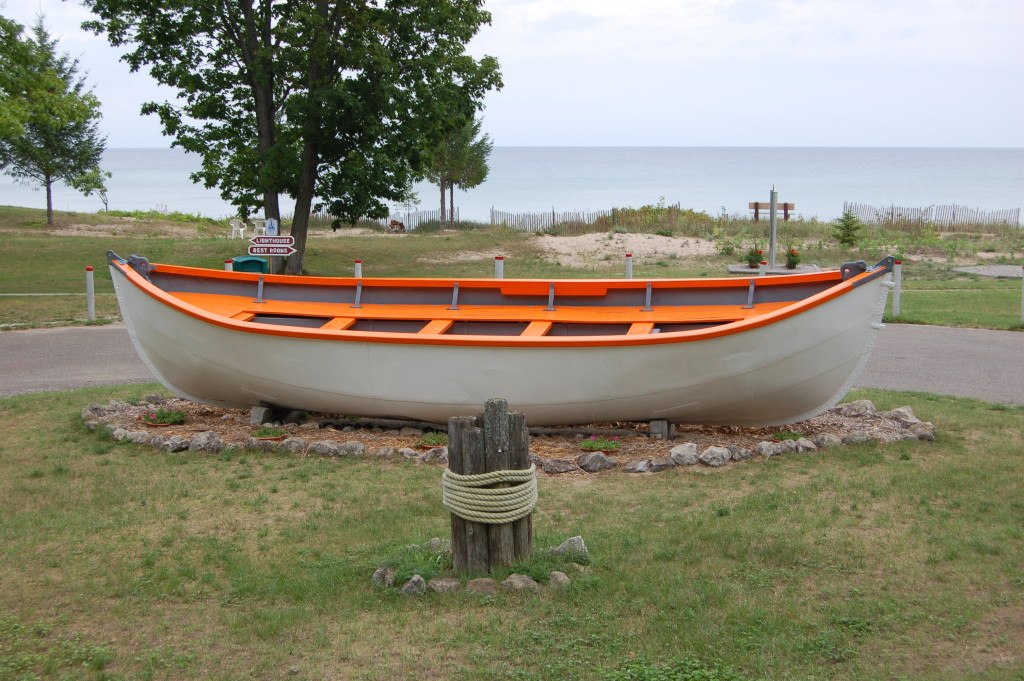 40 Mile Point Lighthouse Lifeboat