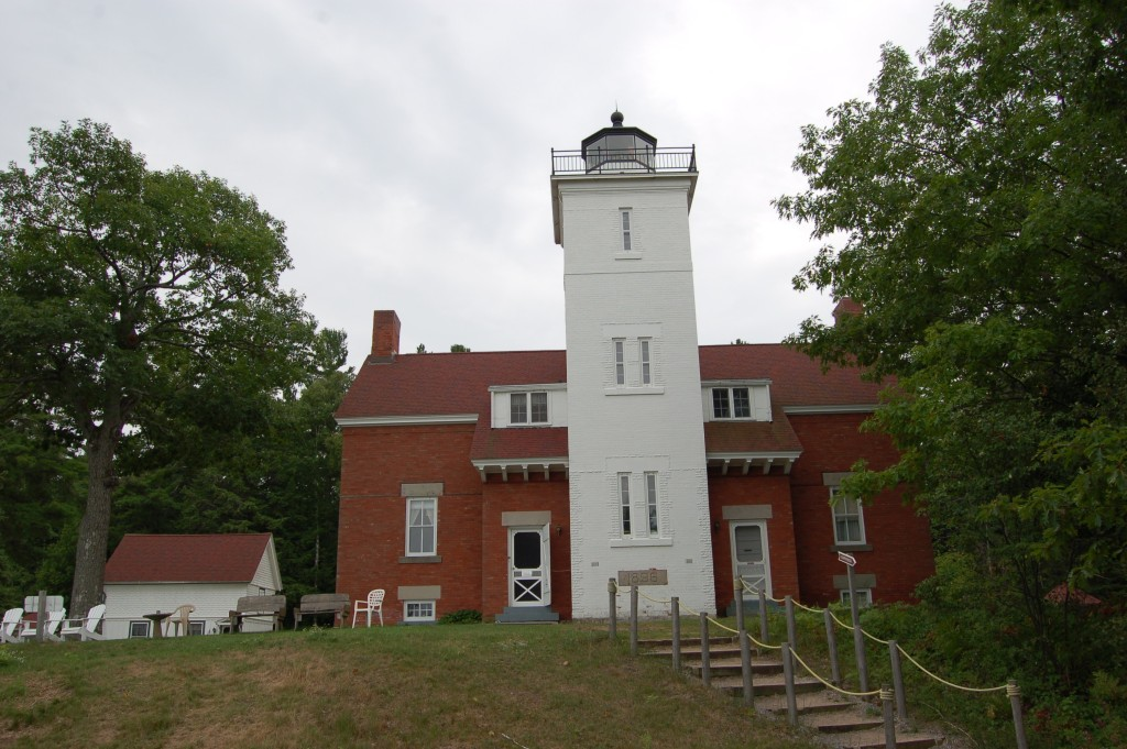 40 Mile Point Lighthouse Michigan Lake Huron