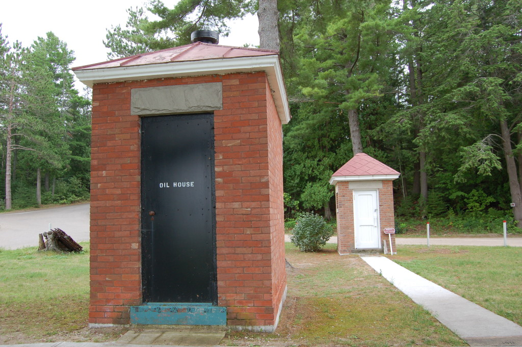 40 Mile Point Lighthouse Outbuildings