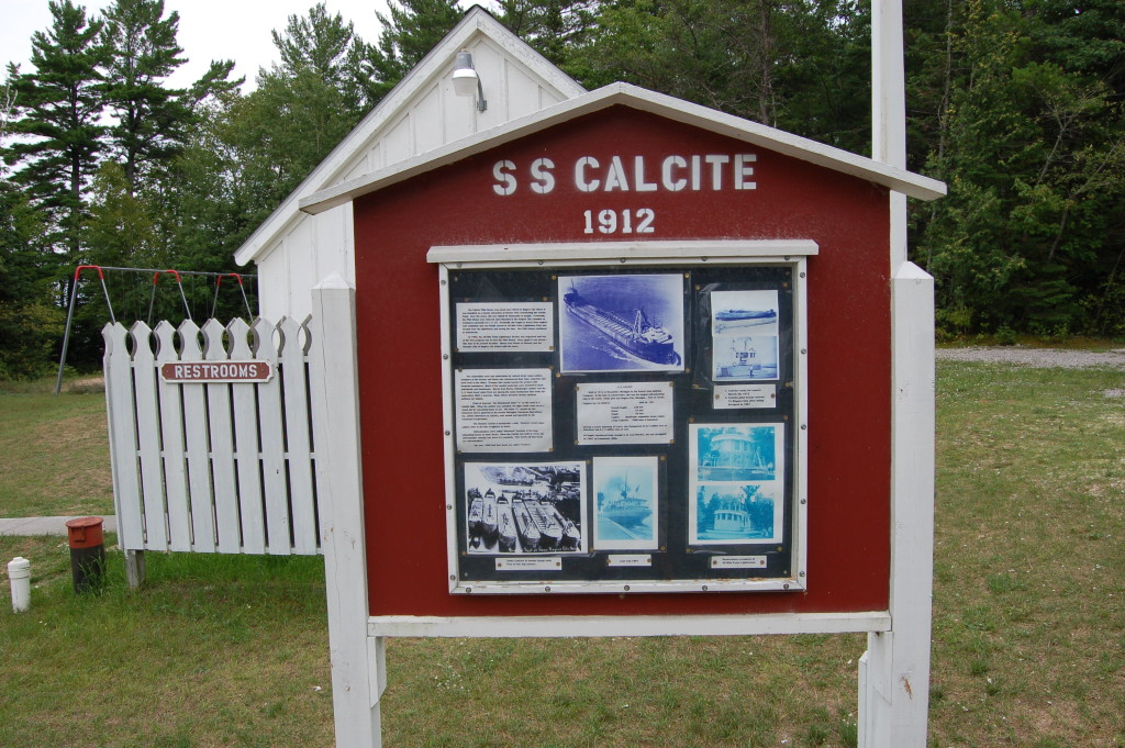 40 Mile Point Lighthouse SS Calcite