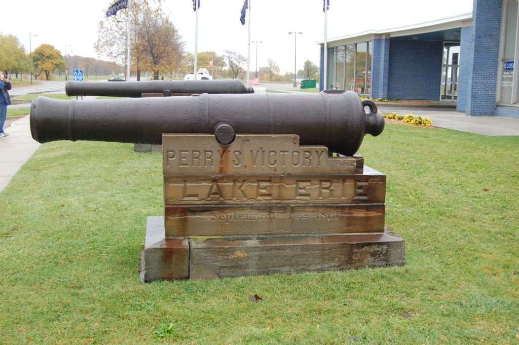 Bell Isle Dossin Museum War Cannon