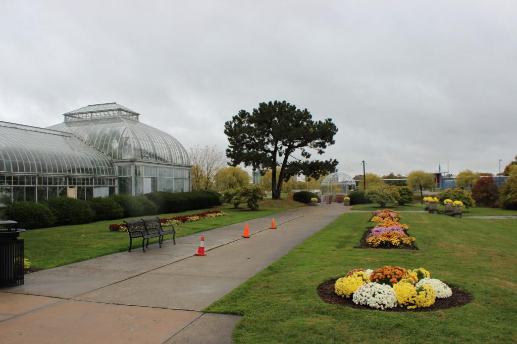 Belle Isle Conservatory Gardens Detroit MI