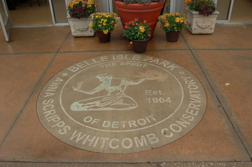 Belle Isle Conservatory Seal Detroit Michigan