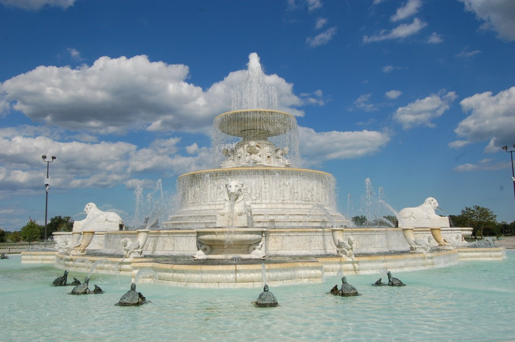Belle Isle Michigan Scott Fountain dEtroit
