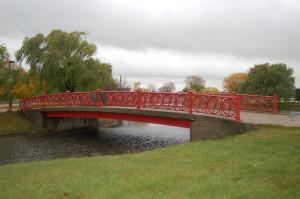 Belle Isle Red Bridge Detroit MI