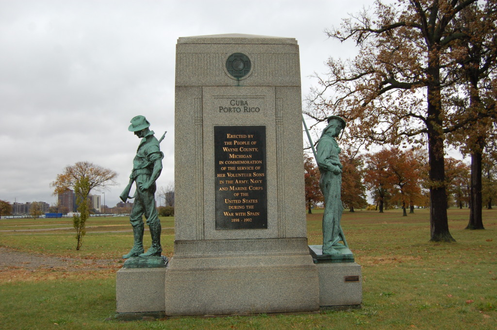 Belle Isle Spanish American War Michigan