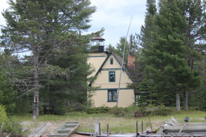 Bete Grise Mendota Lighthouse Lake Superior