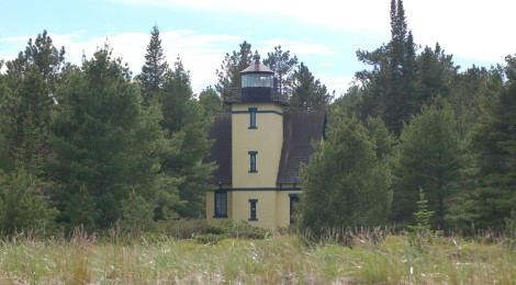 Mendota Lighthouse (Bete Grise), Lake Superior