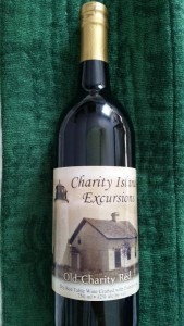 Charity Island Lighthouse Wine Michigan