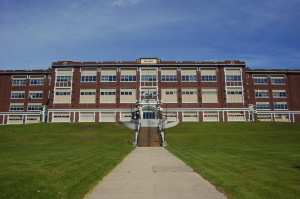 Finlandia University Old Hnacock MI High School