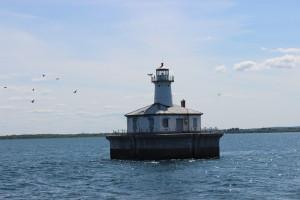 Fourteen Foot Shoal Light Birds Lake Huron
