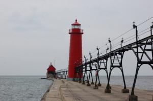Grand Haven MI South Pier Lighthouse