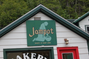 Jampot Eagle Harbor Sign