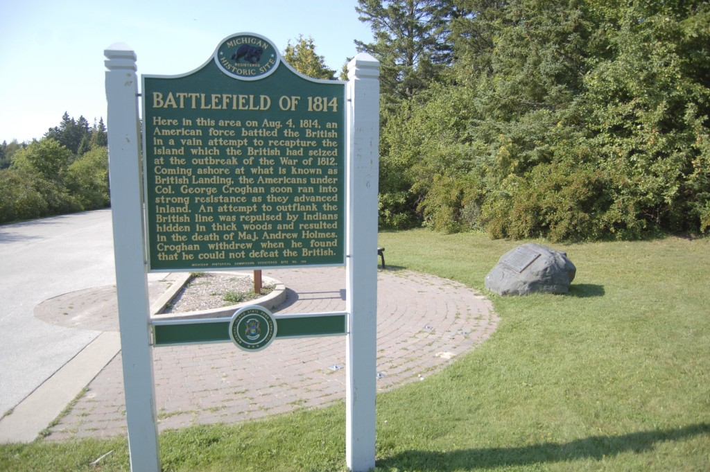 Mackinac Island 1814 Battlefield Michigan