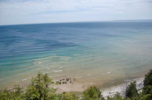 Mackinac Island Arch Rock View Michigan