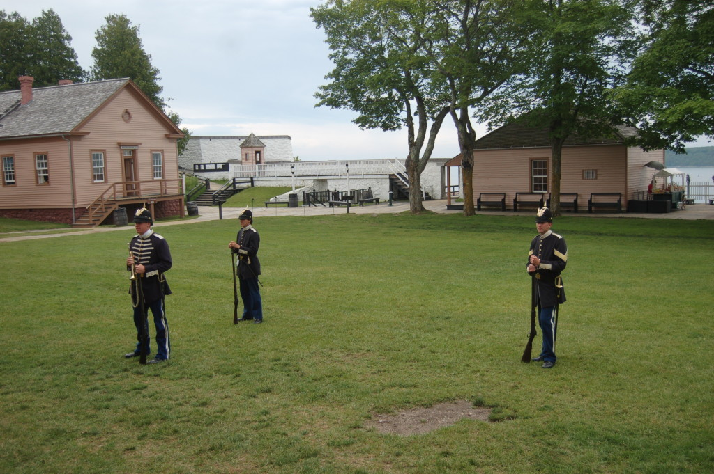 Mackinac Island Fort Reenactment Michigan