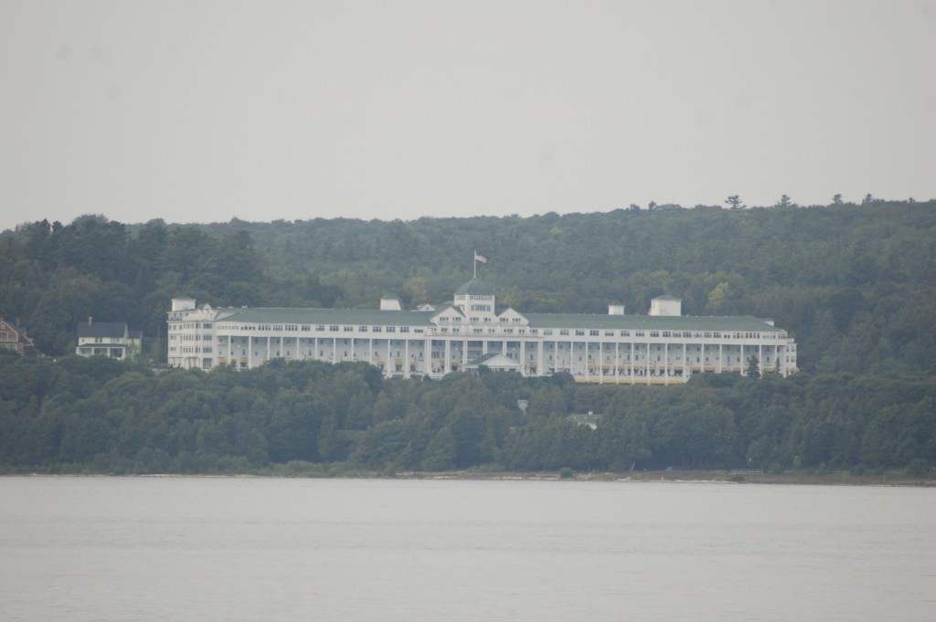 Mackinac Island Michigan Grand Hotel From Water