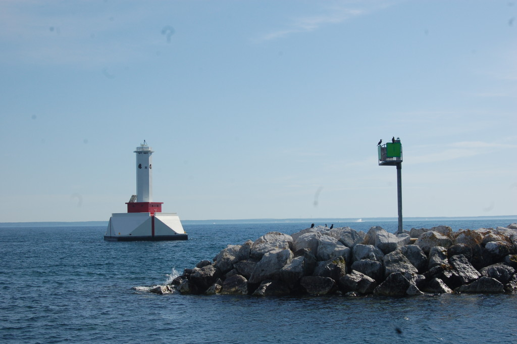 Mackinac Island Michigan Round Island Passage Light